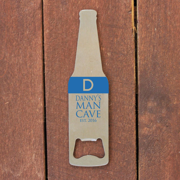 "Bottle Opener - ""Beer Shaped Man Cave"""