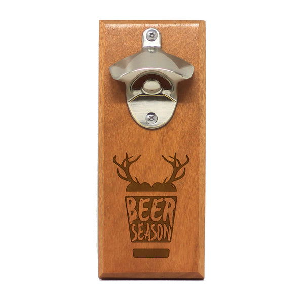 "Magnet Bottle Opener - ""Beer Season"""