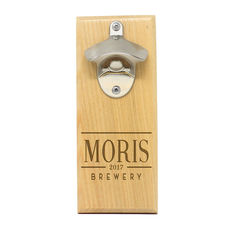 "Magnet Bottle Opener - ""Moris Brewery"""