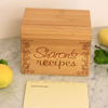Sharon's, Recipe Box