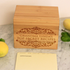 "Custom Recipe Box, Personalized Recipe Box, ""Grandma Secret Recipes"" Recipe Box"