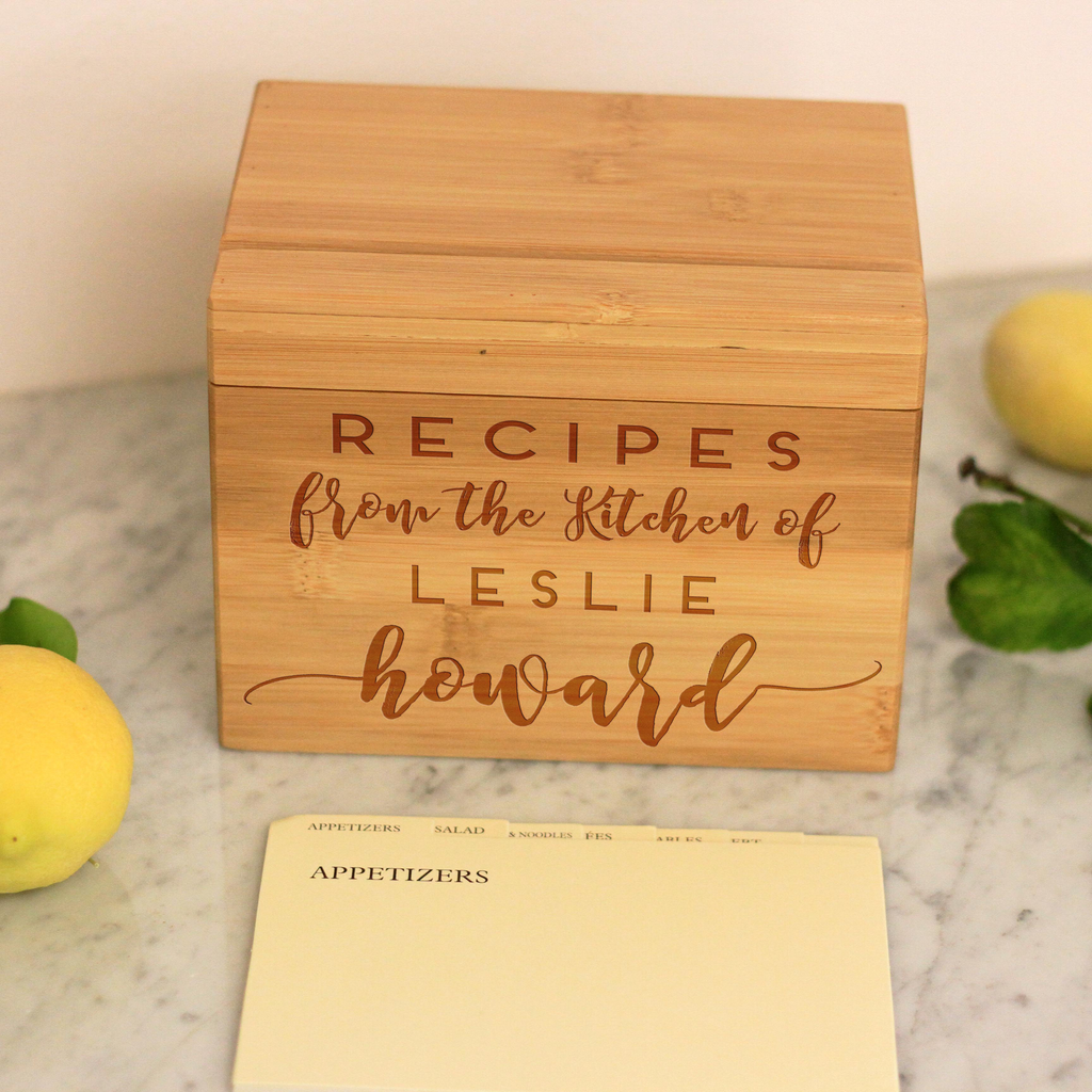 Recipes From The Kitchen Of, Recipe Box