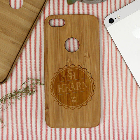 "Badge ""Hearn"" iPhone Case"