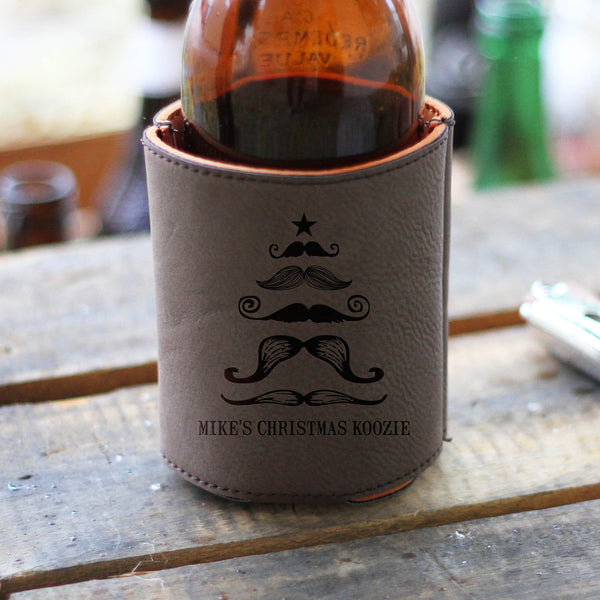 Mustache Xmas Tree, Beverage Holder