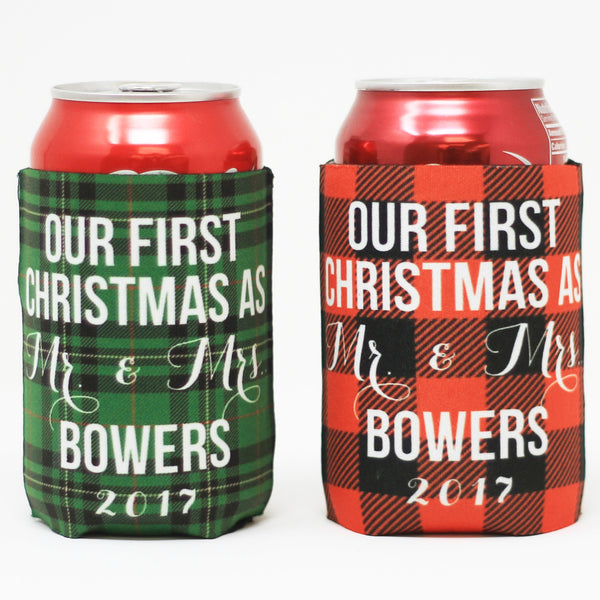 His and Hers - Our First Christmas, Beverage Holder