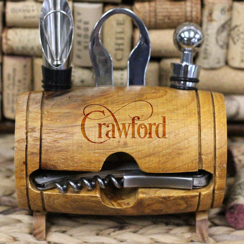 Crawford, Wine Barrel Tool Set