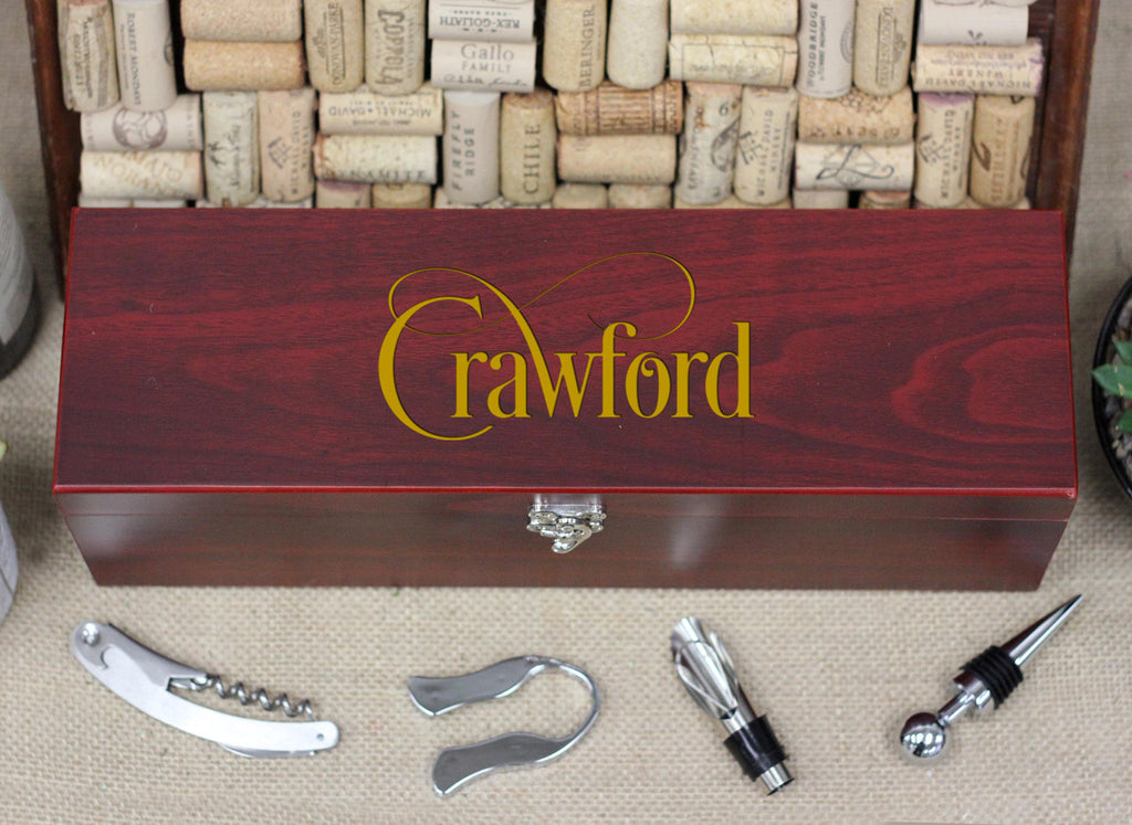 Wine Box with Tools, Crawford