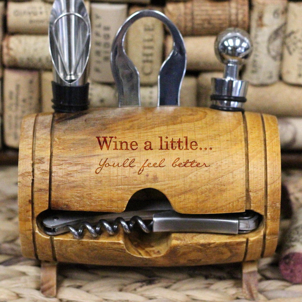 Wine a Little, Wine Barrel Tool Set