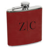 Classic Initial Flask, Custom Engraved Flask with initials, Custom Flask, Personalized Flask
