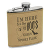 Custom Halloween Flask, Ship Captain Flask, Custom Flask, Personalized Flask