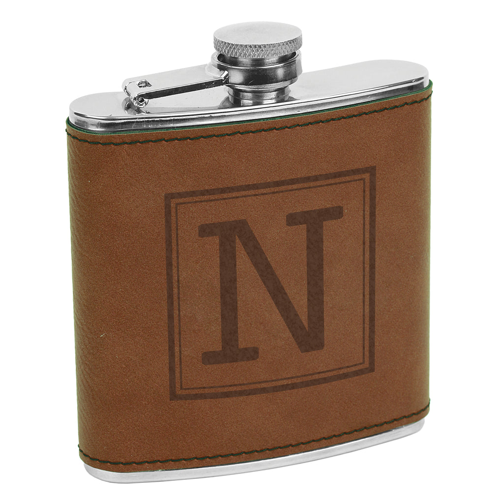 Custom Initial Flasks, Initial Flask, Custom Flask, Personalized Flask