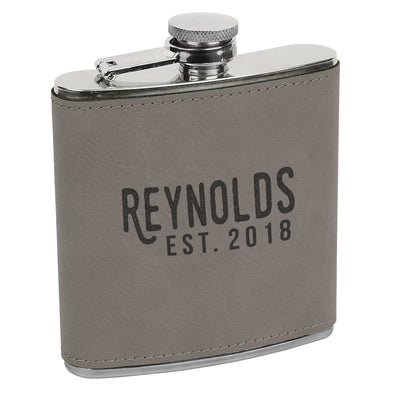 Custom Name Flask, Custom Date Flask, Initial Flask, Custom Flask, Personalized Flask