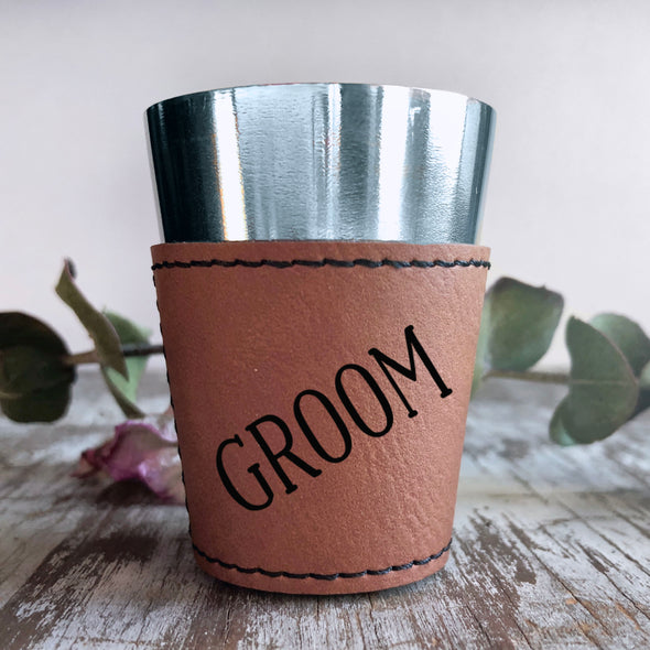 Personalized Shot Glass, Custom Shot Glass, Groom Shot Glass