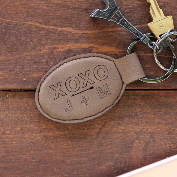 Personalized Engraved Genuine Leather Key ChainPersonalized Engraved Genuine Leather Key Chain