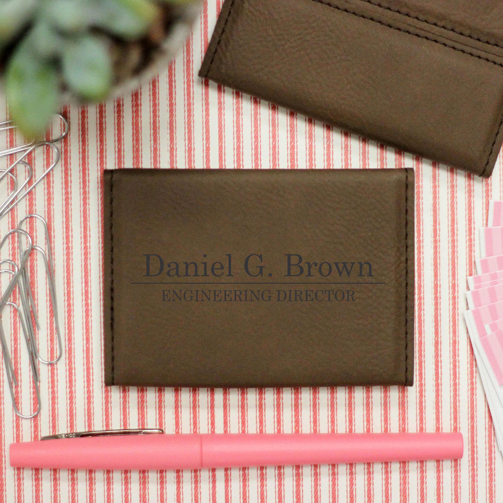 "Business Card Holder ""Daniel Brown"""