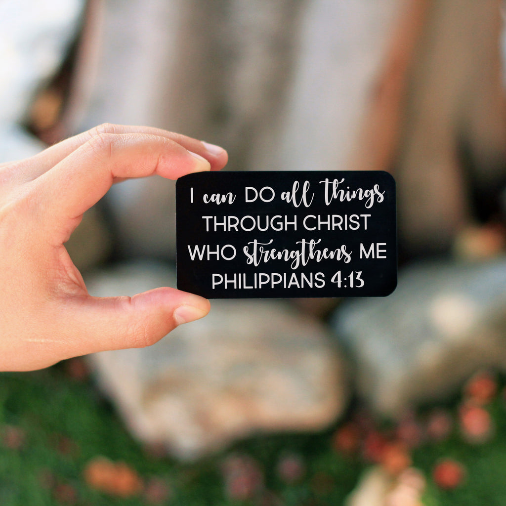 Wallet Note Insert - I Can Do All Things