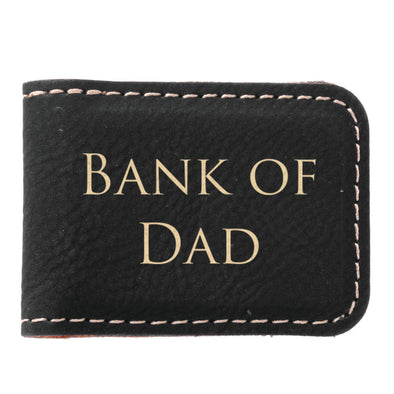 Bank Of Dad Money Clip