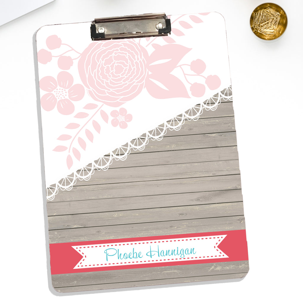 Personalized Clipboard With With Name