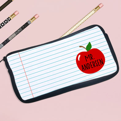 Personalized Pencil Case For Teacher