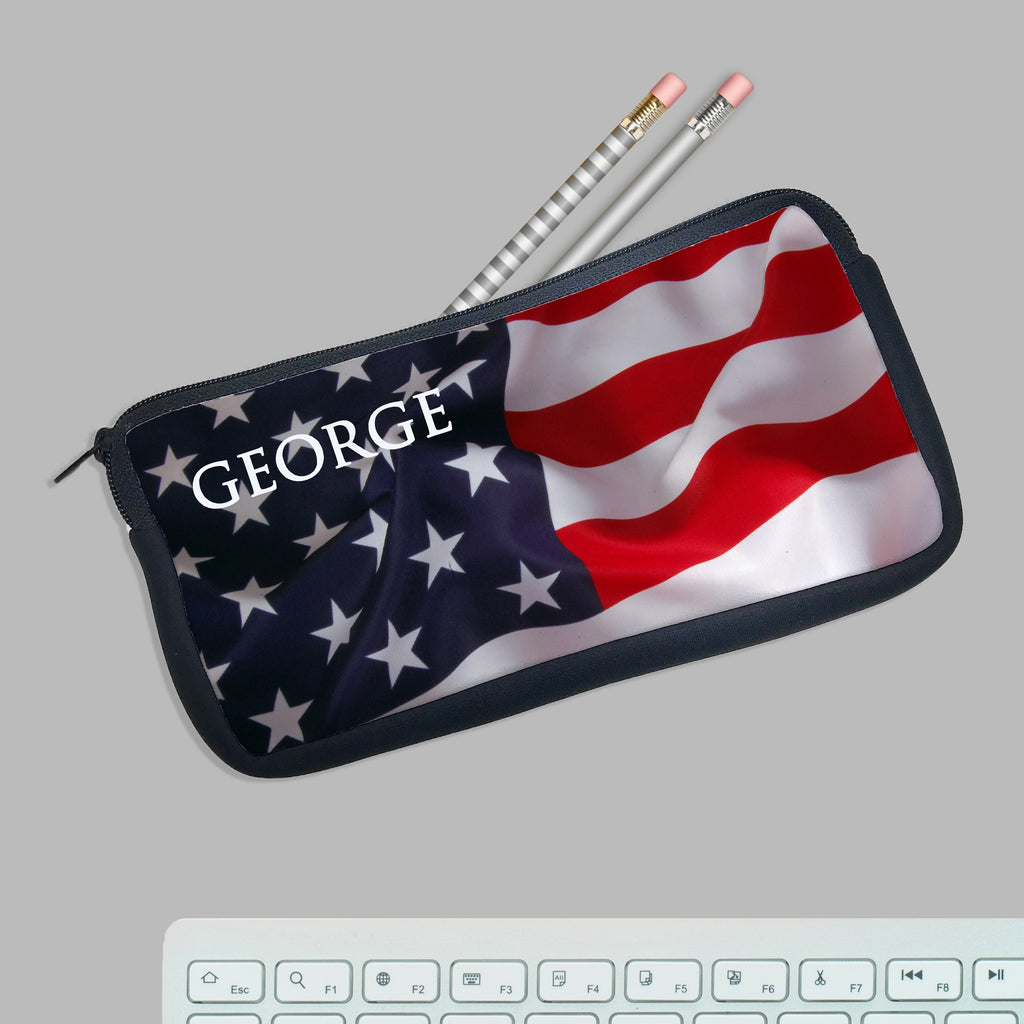 "Personalized Pencil Case, Custom Pencil Case, Pencil Bag, ""George"""