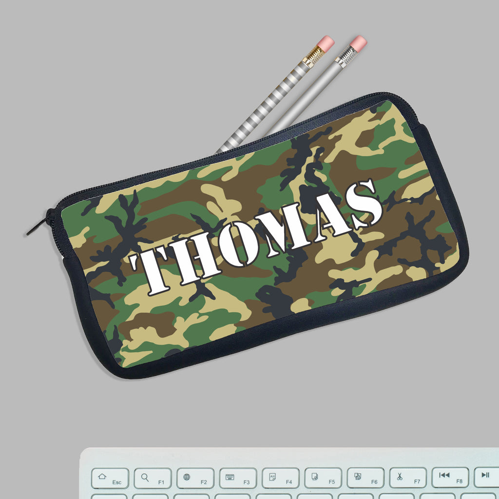 "Personalized Pencil Case, Custom Pencil Case, Pencil Bag, ""Thomas"""