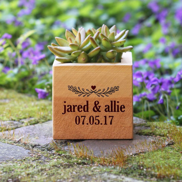"Flower Box - ""Names With Established Date"""