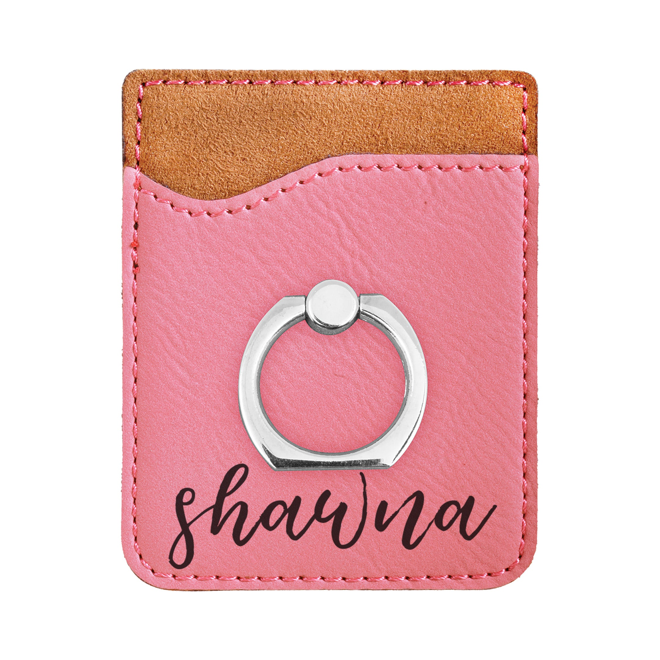 detailed look dbc17 0e5bc Personalized First Name Phone Wallet, Custom Engraved Phone Wallet, Cell  Phone Wallet with Stand, Credit Card Holder, Phone Pocket, Card Caddy,  iPhone ...