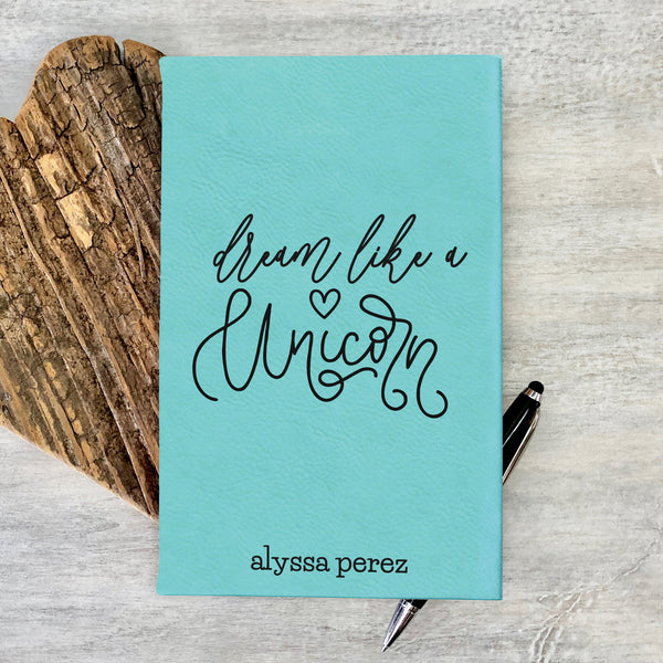 "Custom Journal, Cute Journal, Personalized Journal ""Alyssa Perez"""