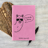 "Custom Journal, Cute Journal, Personalized Journal ""Katie's Journal"""