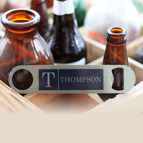 "Personalized Bottle Opener - ""Thompson"""