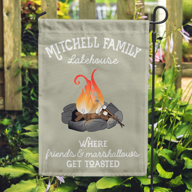 Lakehouse Flags, Flags for your lake house, Camp fire flags, Personalized flags,