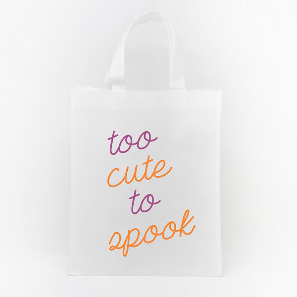 Trick or Treat Bag - Too Cute to Spook