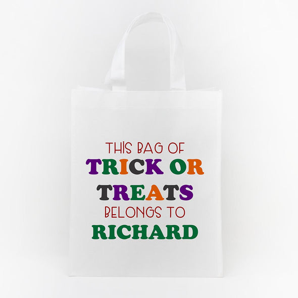 Trick or Treat Bag - Richard's Goodie Bag