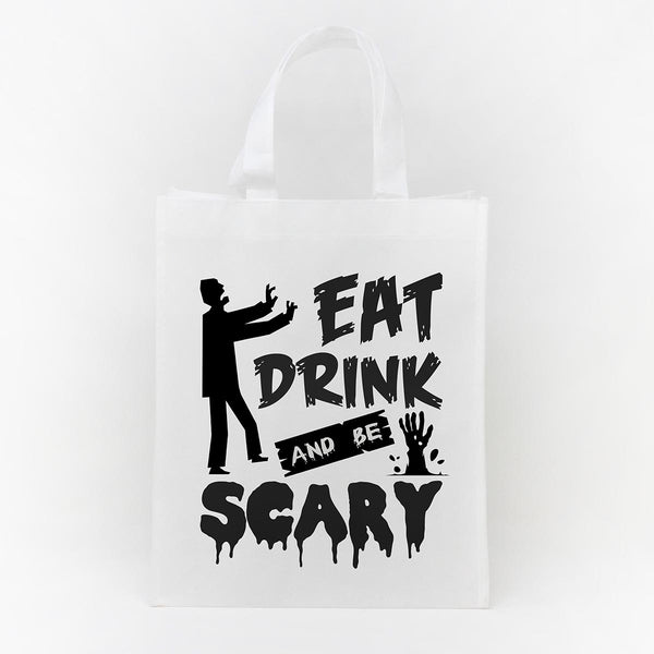 Trick or Treat Bag - Eat Drink Be Scary