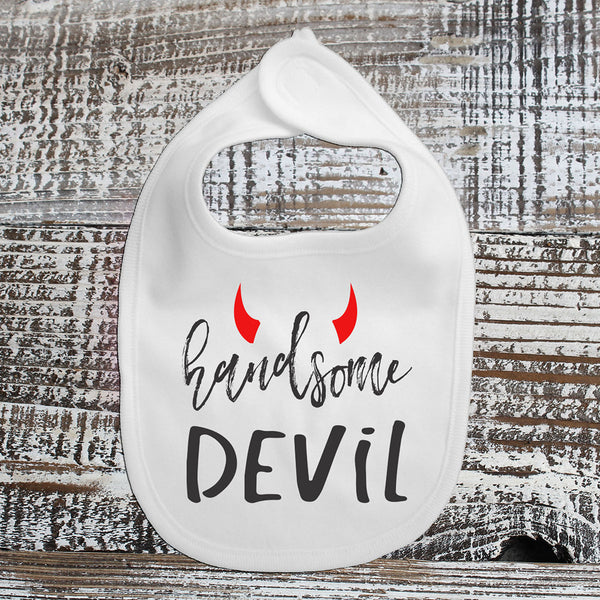 Baby Bib - Handsome Devil