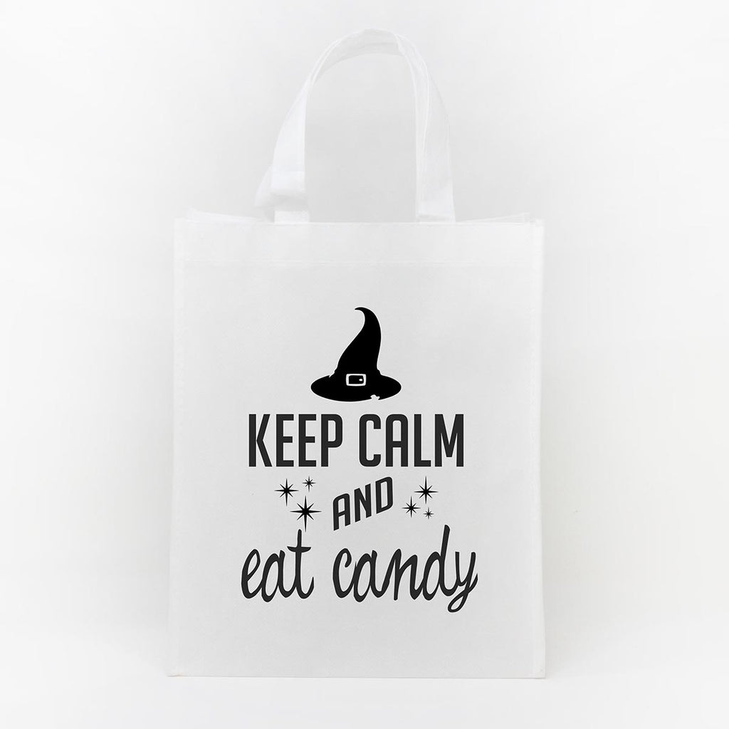 Trick or Treat Bag - Keep Calm Eat Candy