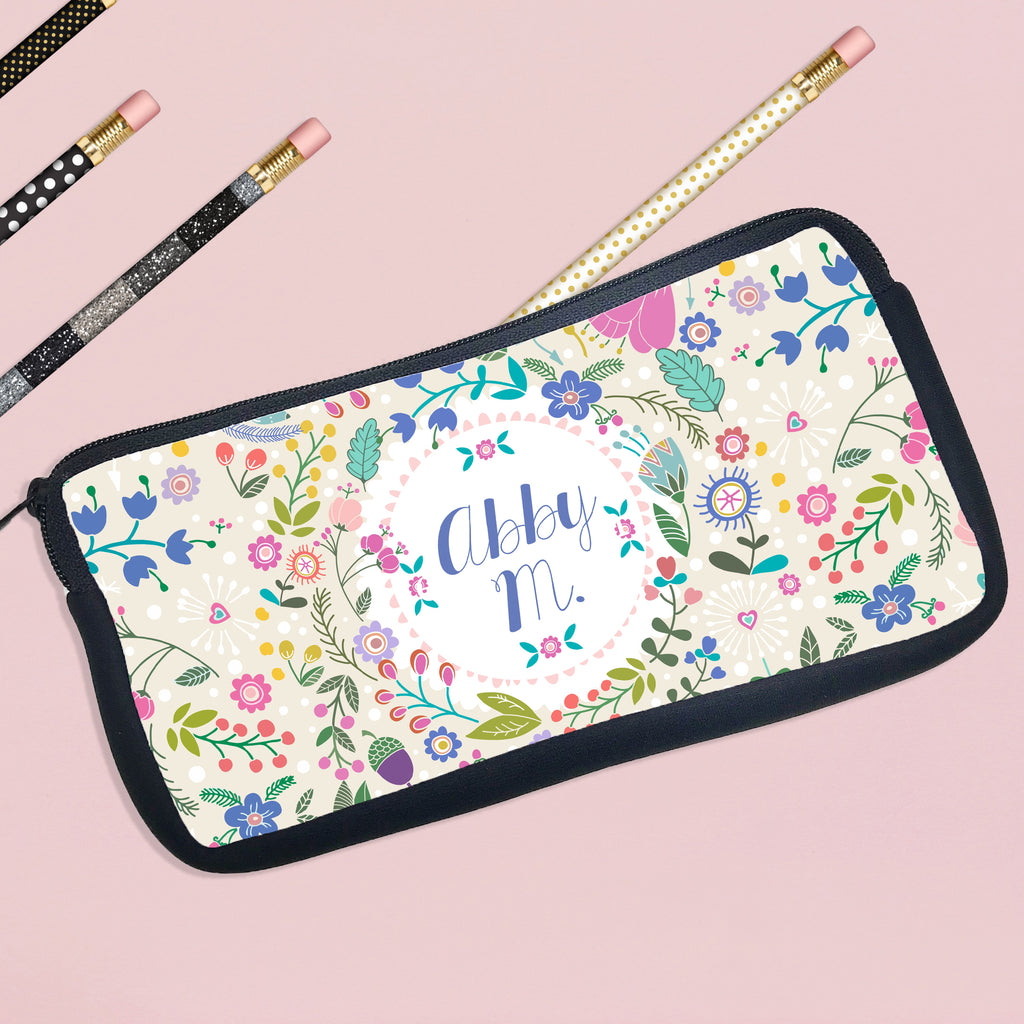 Personalized Pencil Case Cute Design