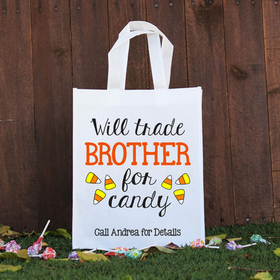 Trick or Treat Bag - Will Trade Brother