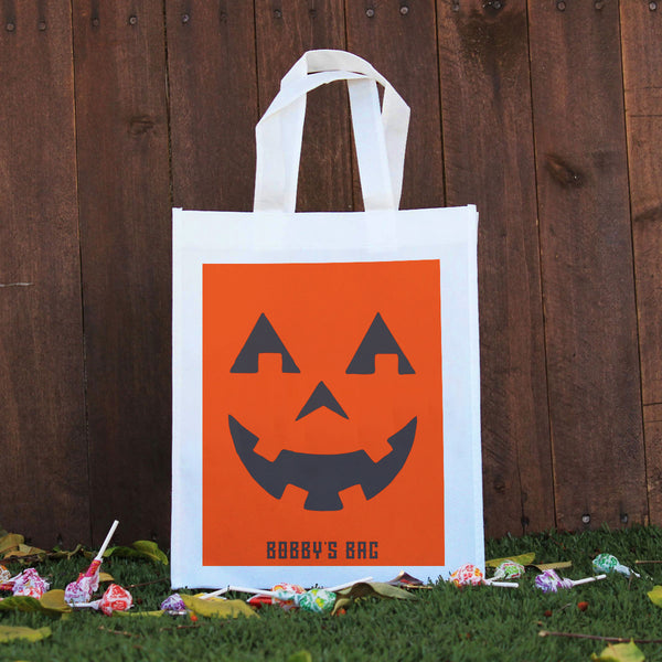 Trick or Treat Bag - Bobby's Bag, Jack-o'-lantern