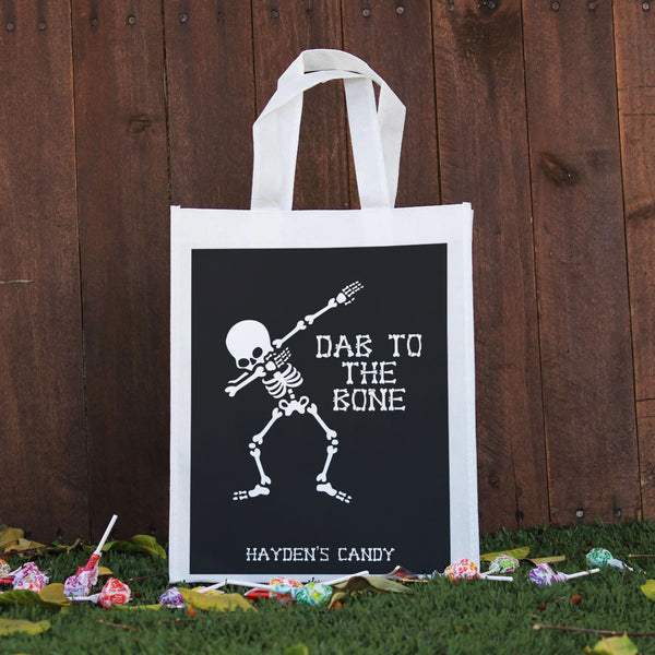 Trick or Treat Bag - Dab to the Bone, Hayden's Candy