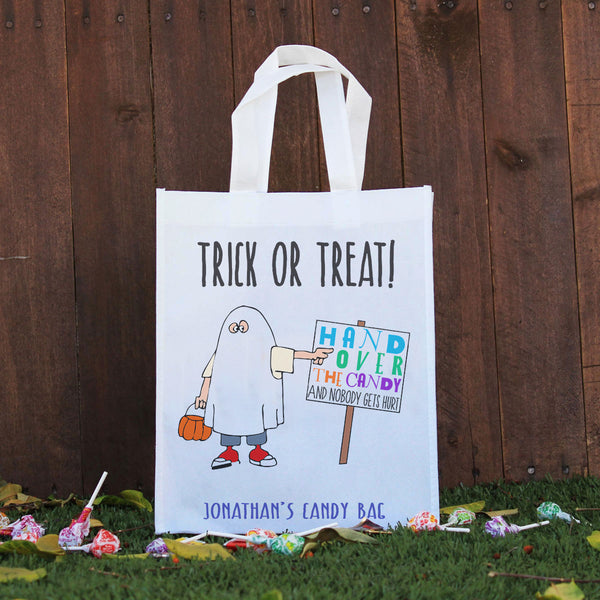 Trick or Treat Bag - Jonathan's Candy Bag