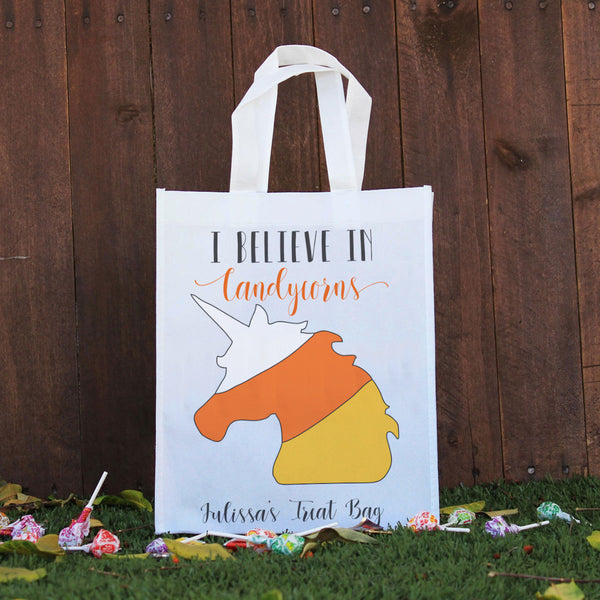 Trick or Treat Bag - I Believe in Candycorns, Julissa's Treat Bag
