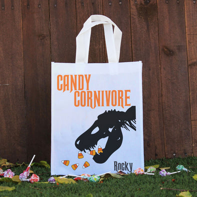 Trick or Treat Bag - Candy Carnivore, Rocky