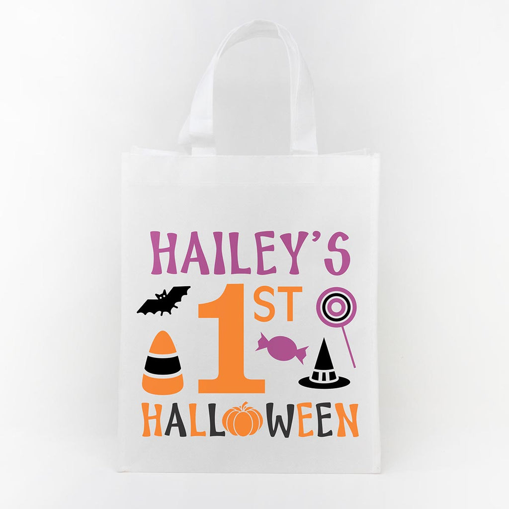 Trick or Treat Bag - Haileys First Halloween