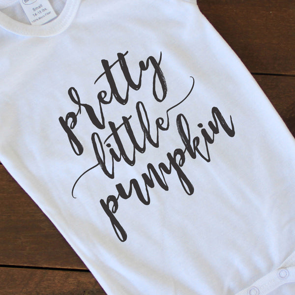 Onesie - Pretty Little Pumpkin
