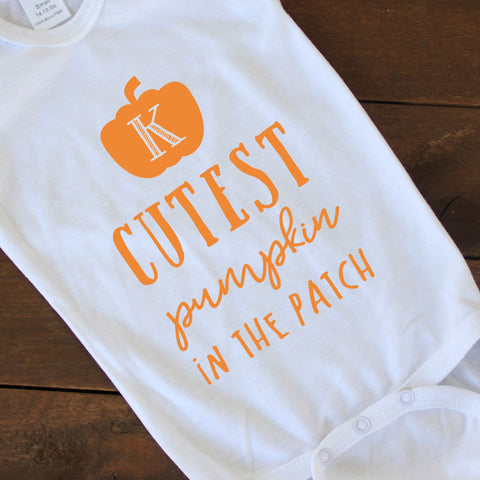 Onesie - Cutest Pumpkin