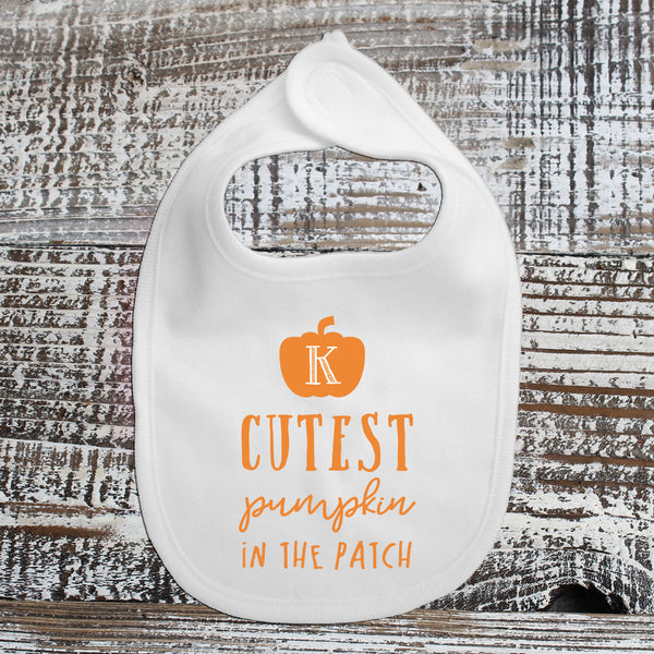 Baby Bib - Cutest Pumpkin