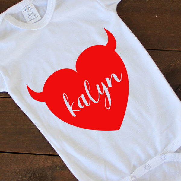 Onesie - Kalyn Heart