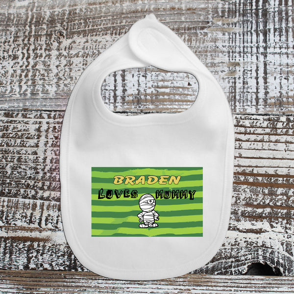 Baby Bib - Braden Loves Mummy