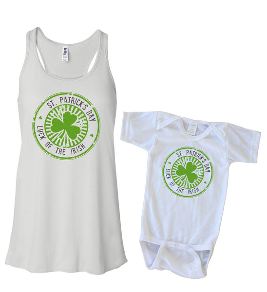 Matching Tank & Onesie - St Patricks Day